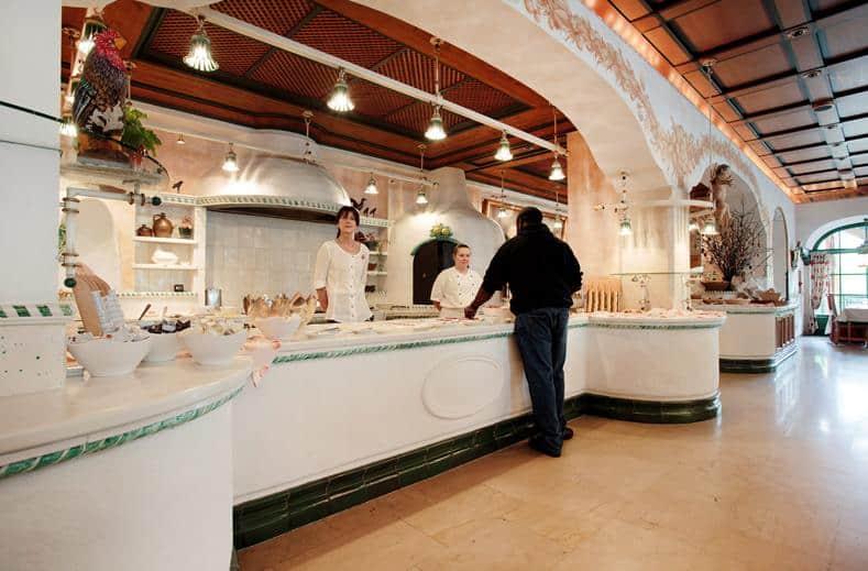Restaurant van Alpendomizil Neuhaus
