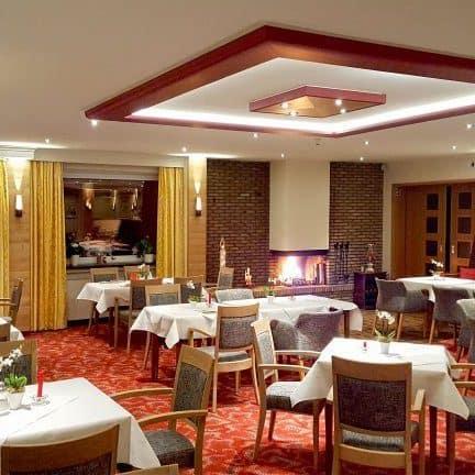 Restaurant van Hotel Kleins Wiese