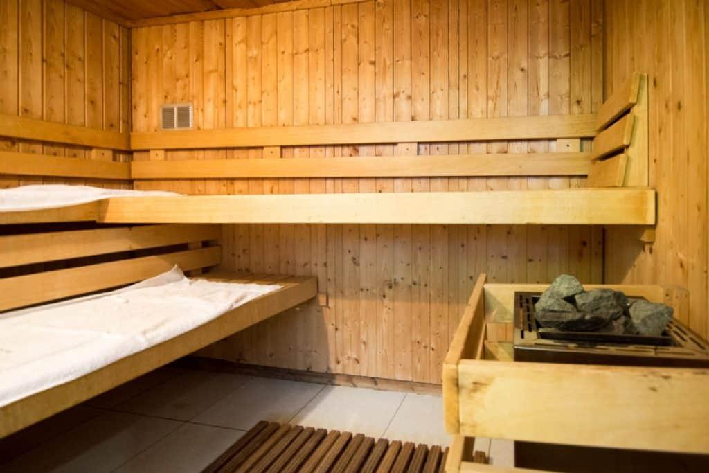 Sauna van Hotel de Stokerij