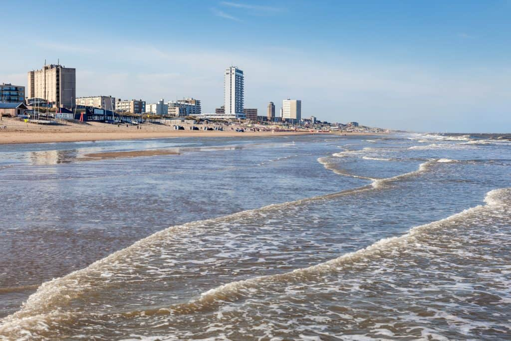 Strand van Zandvoort, Noord-Holland
