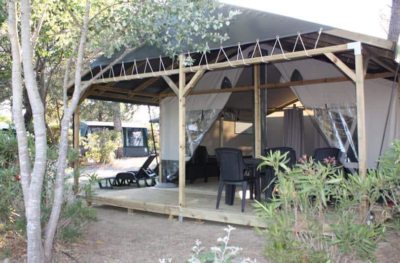 Tent van Vakantiepark RCN De Schotsman