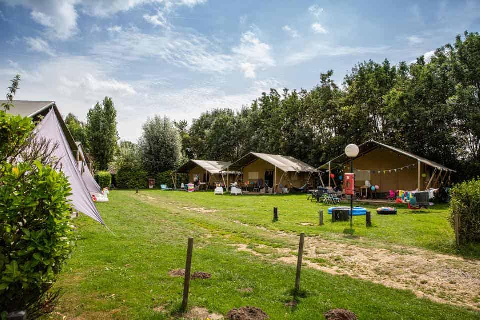 Tenten van Camping Gorishoek