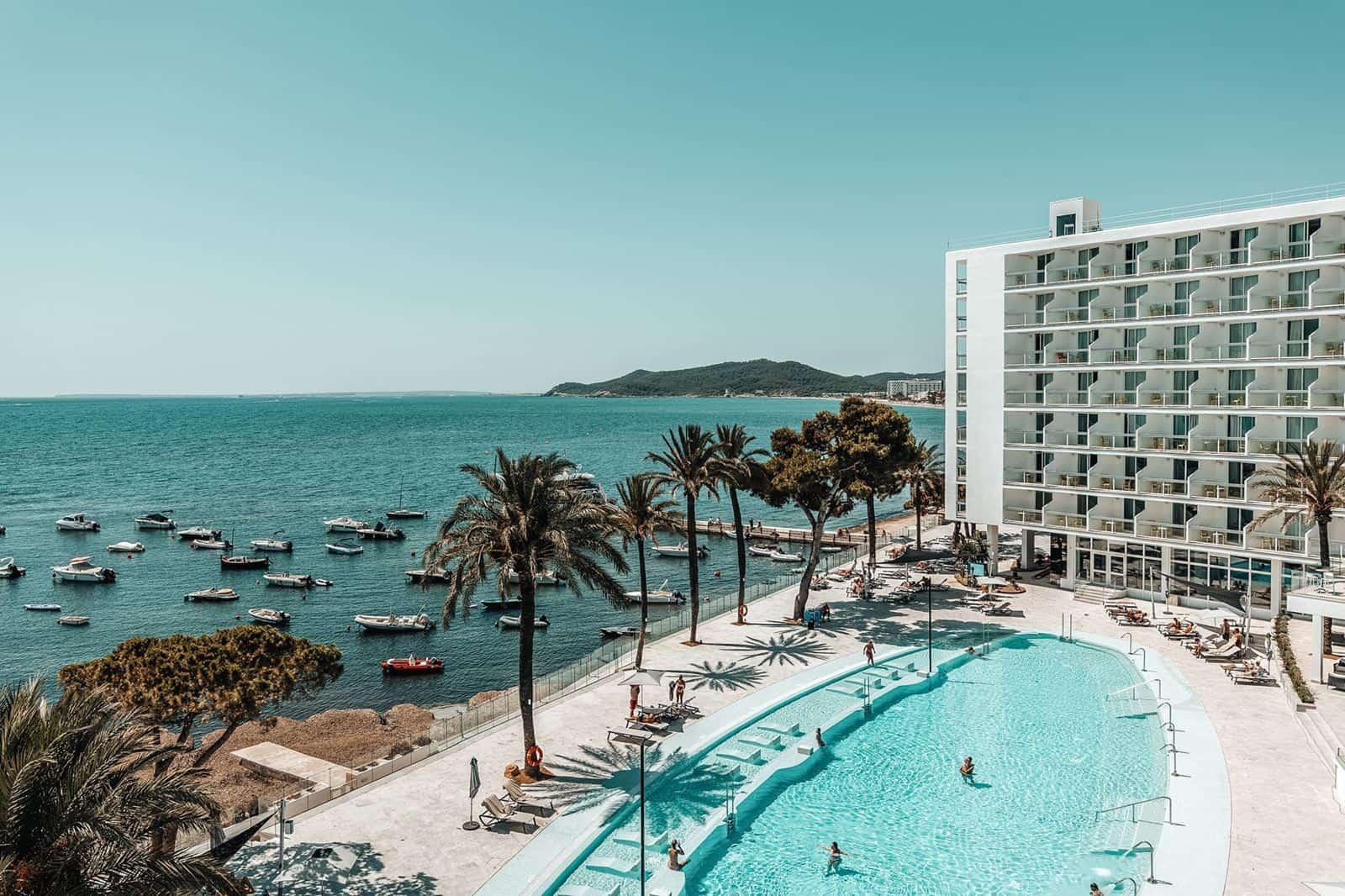 The Ibiza Twiins in Playa d'en Bossa, Ibiza
