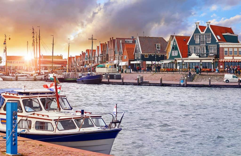 Volendam in Noord-Holland