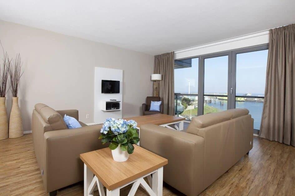 Appartement van Roompot Nautisch Centrum Scheveningen