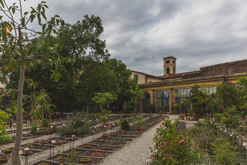 Botanische tuin van Lucca