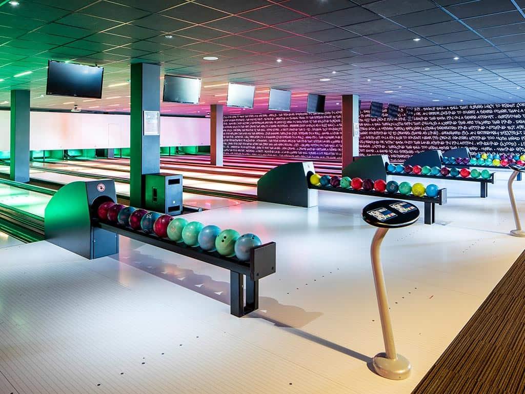 Bowlingbaan van Fletcher Wellness-Hotel Helmond