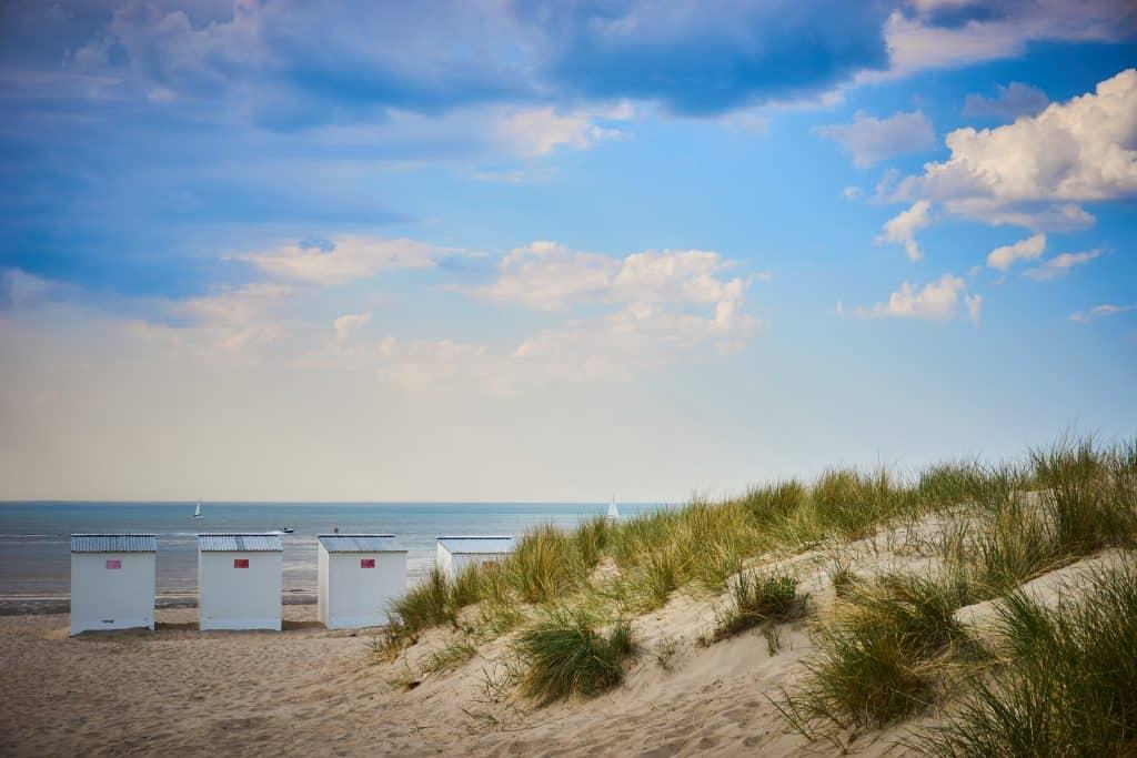 Duinen en strand in België