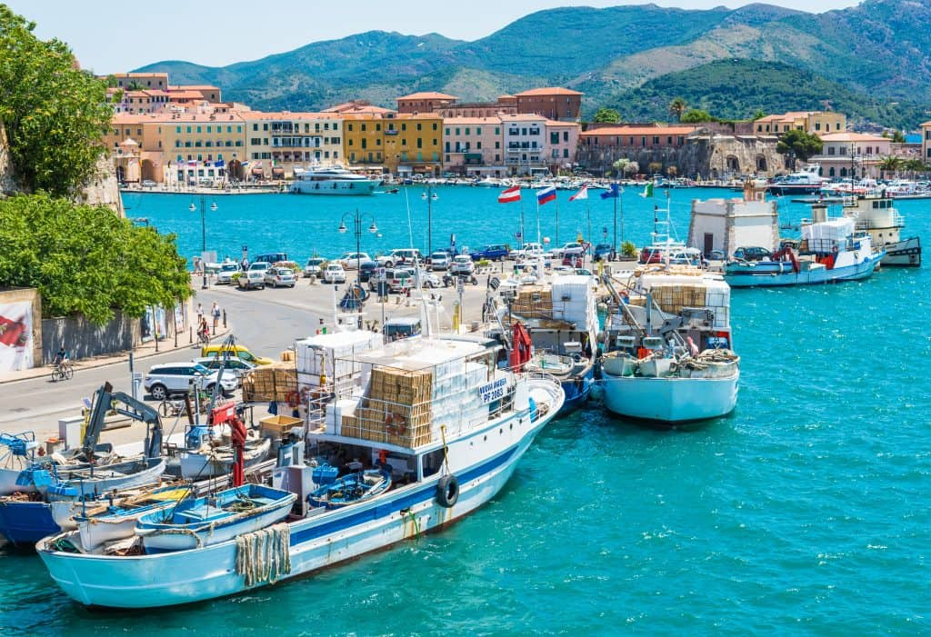 Elba, grootste eiland van de Toscaanse Archipel