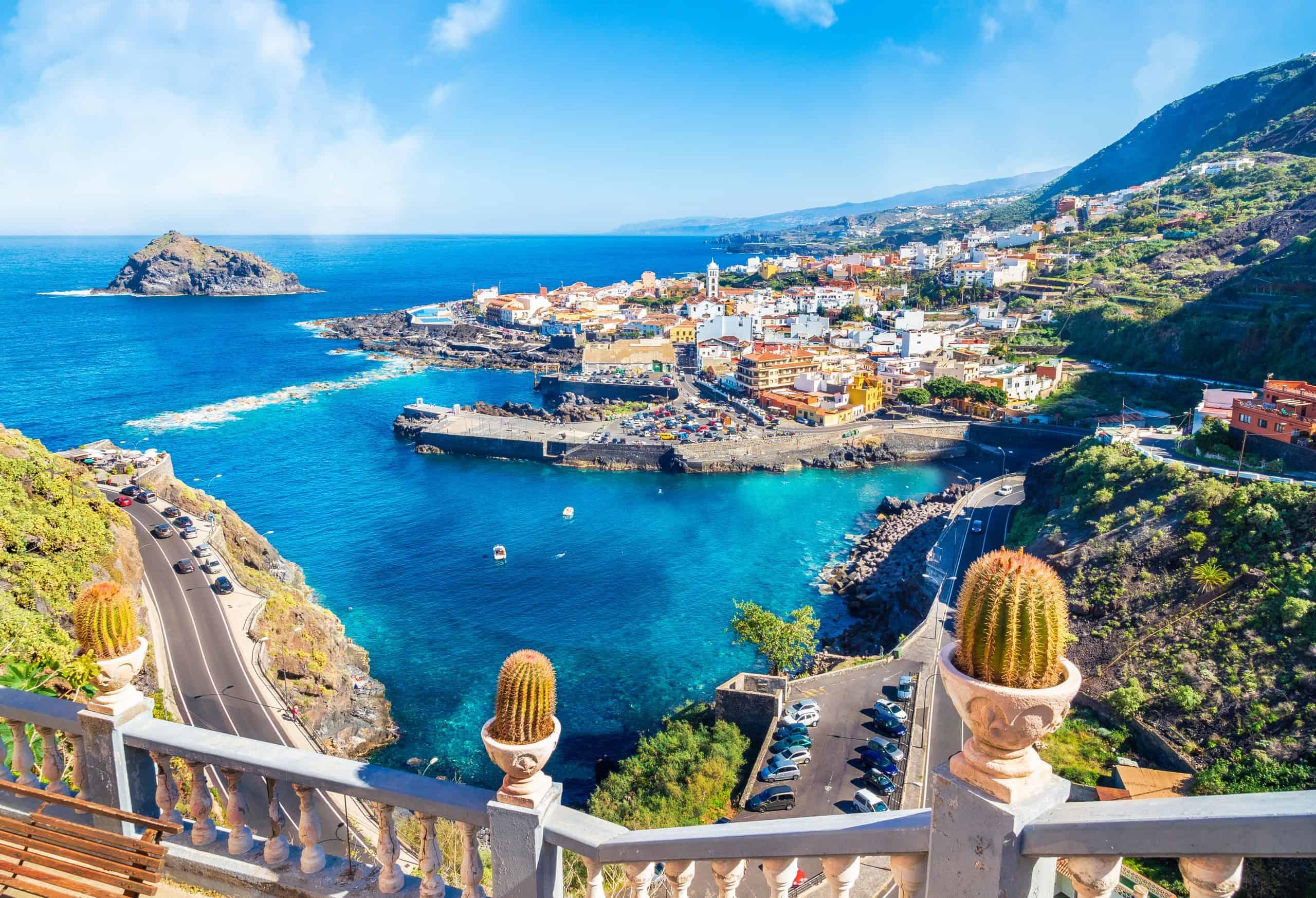 Garachico op Tenerife in de Canarische Eilanden