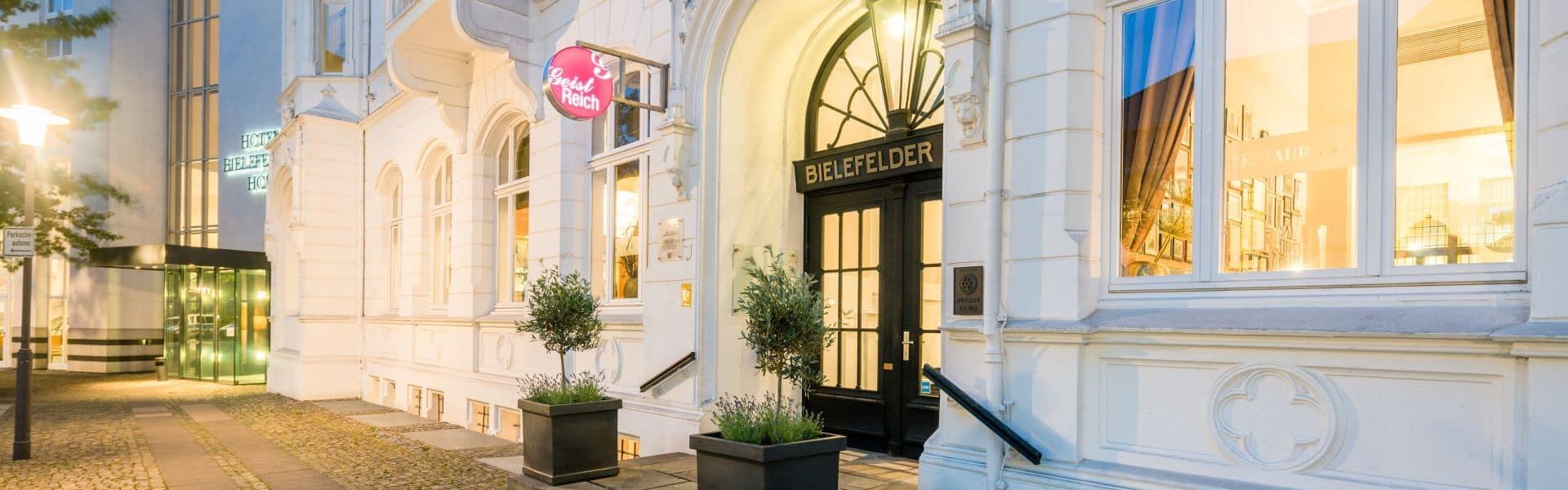 Hotel Bielefelder Hof in Bielefeld, Duitsland