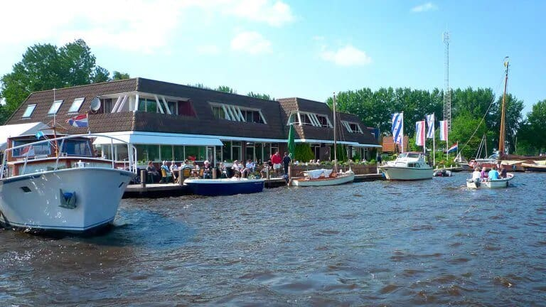 Hotel-Restaurant Ie-Sicht in Oudega, Friesland