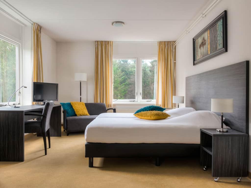 Hotelkamer van Fletcher Hotel-Restaurant De Eese-Giethoorn