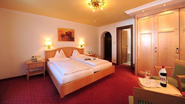 Hotelkamer van Hotel Arlberg