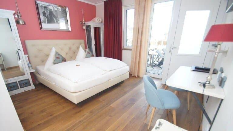Hotelkamer van Hotel Chapeau Noir