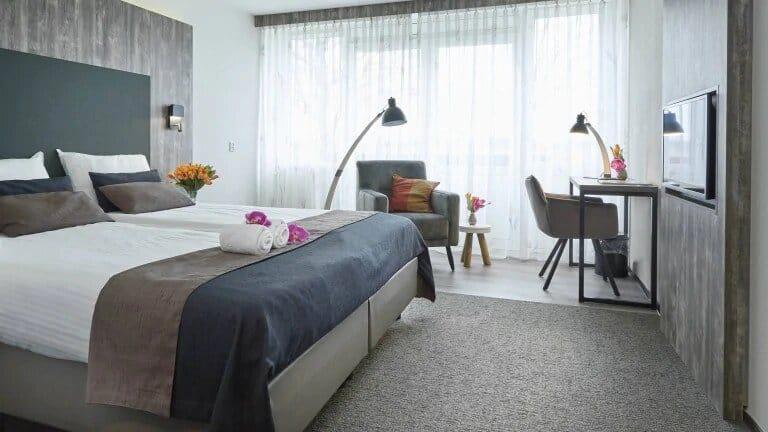 Hotelkamer van Hotel Eeserhof