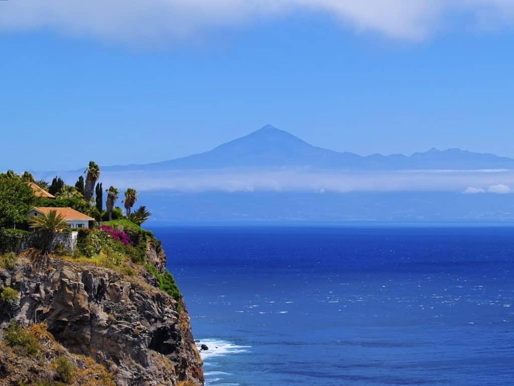 Huis op La Gomera met de zee