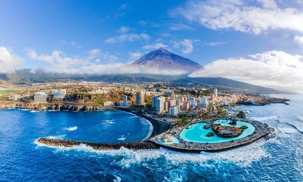 Puerto de la Cruz op Tenerife