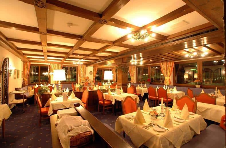 Restaurant van Hotel Arlberg