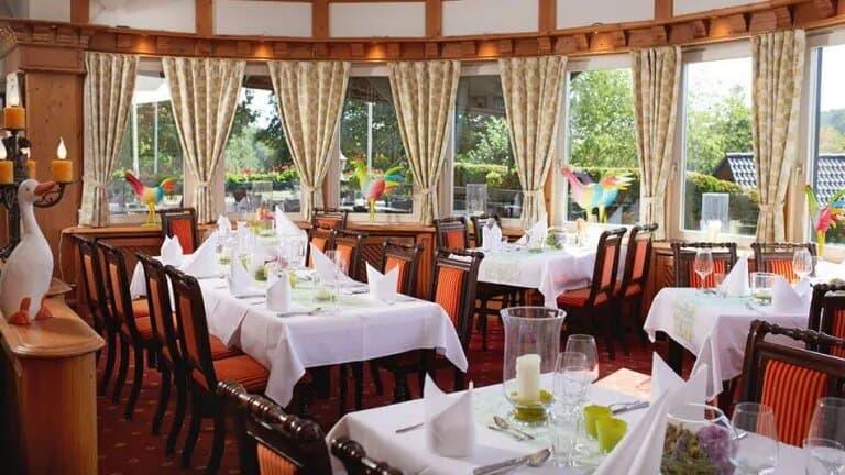 Restaurant van Hotel Derichsweiler Hof