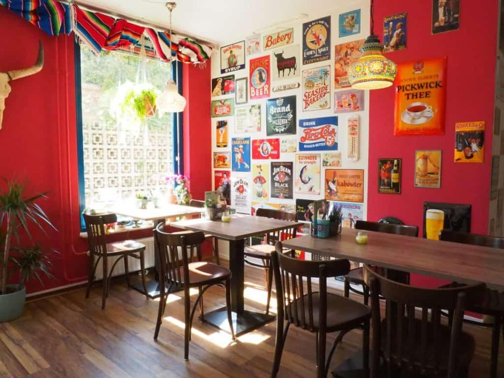 Restaurant van Hotel Wymerts