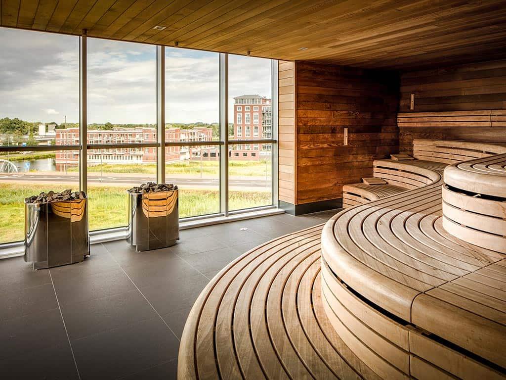 Sauna van Fletcher Wellness-Hotel Helmond