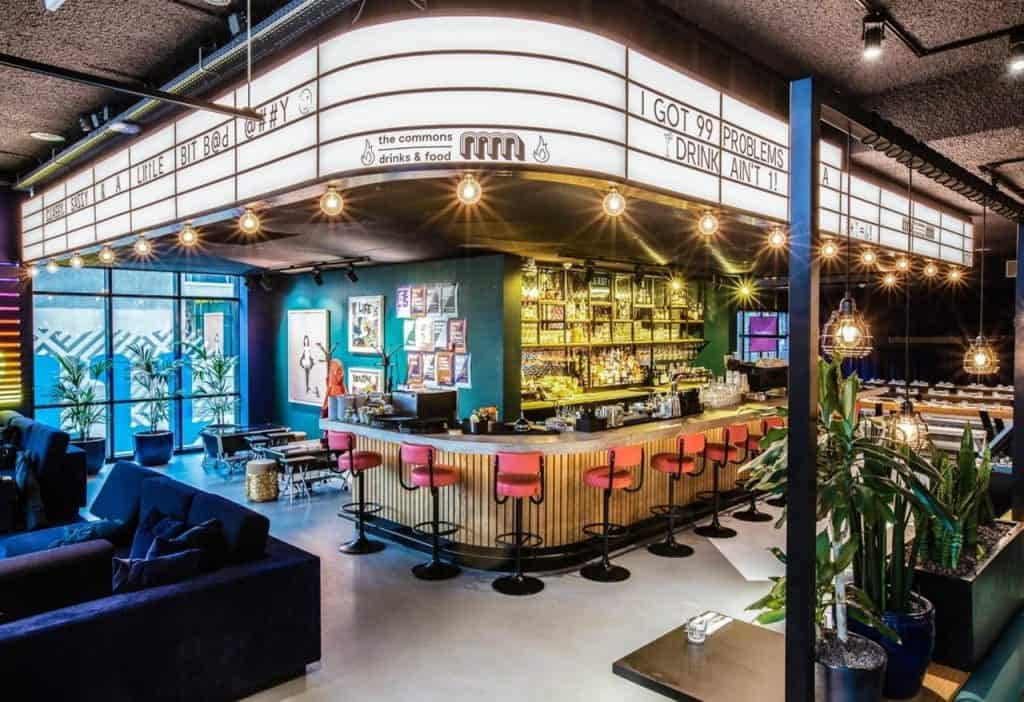 The Commons in The Student Hotel Amsterdam City