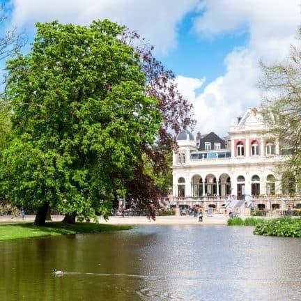 Vijver in Vondelpark, Amsterdam