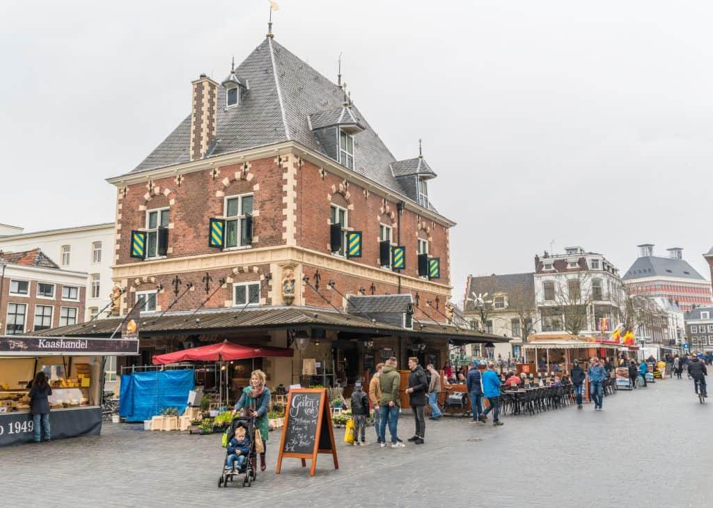 De waag in Leeuwarden, Friesland
