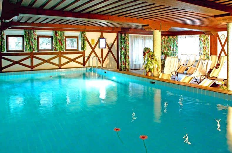 Zwembad van Hotel Arlberg