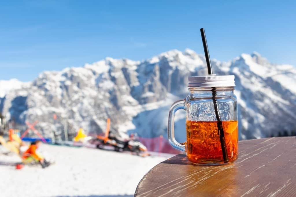 Aperol Spritz in de Alpen