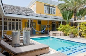 Boutique hotel 't klooster in Willemstad op Curaçao