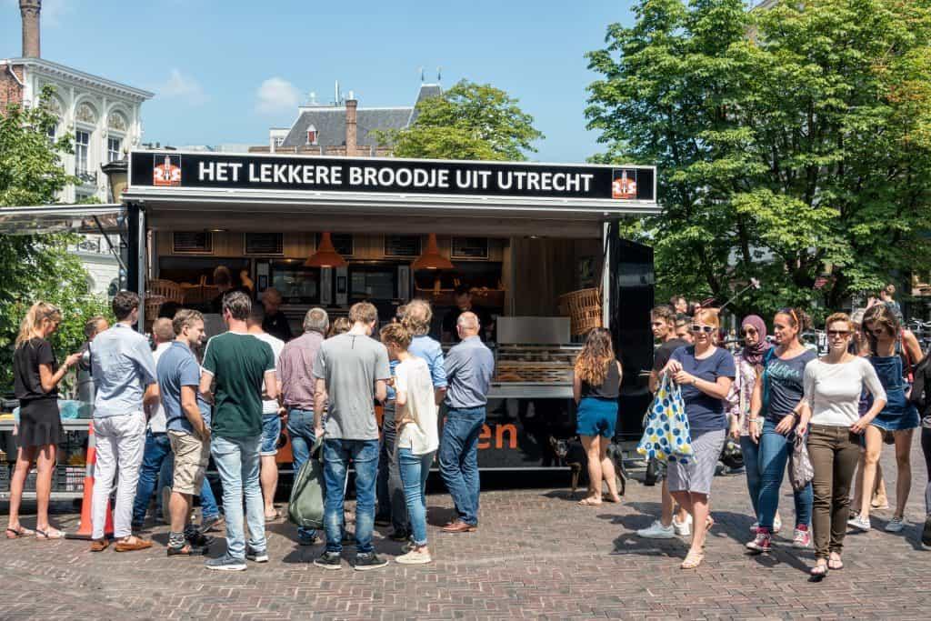 Broodje eten Utrecht