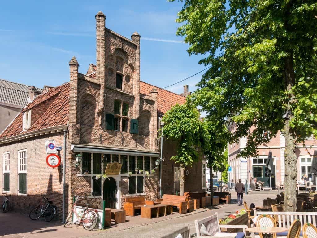Cafe op de Groenmarkt in Amersfoort