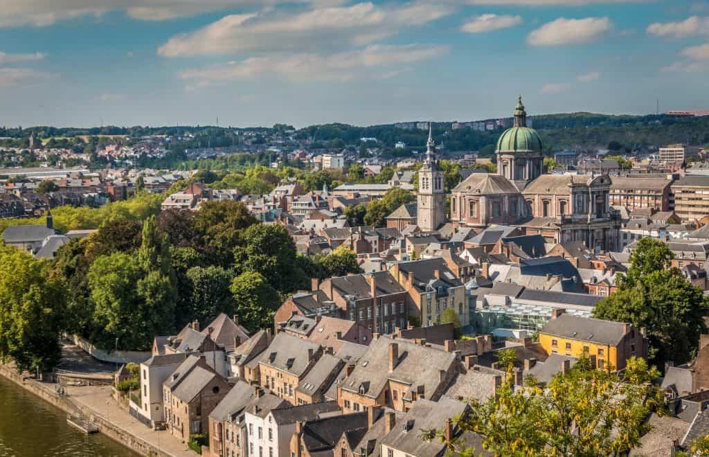 Centrum van Namen in België