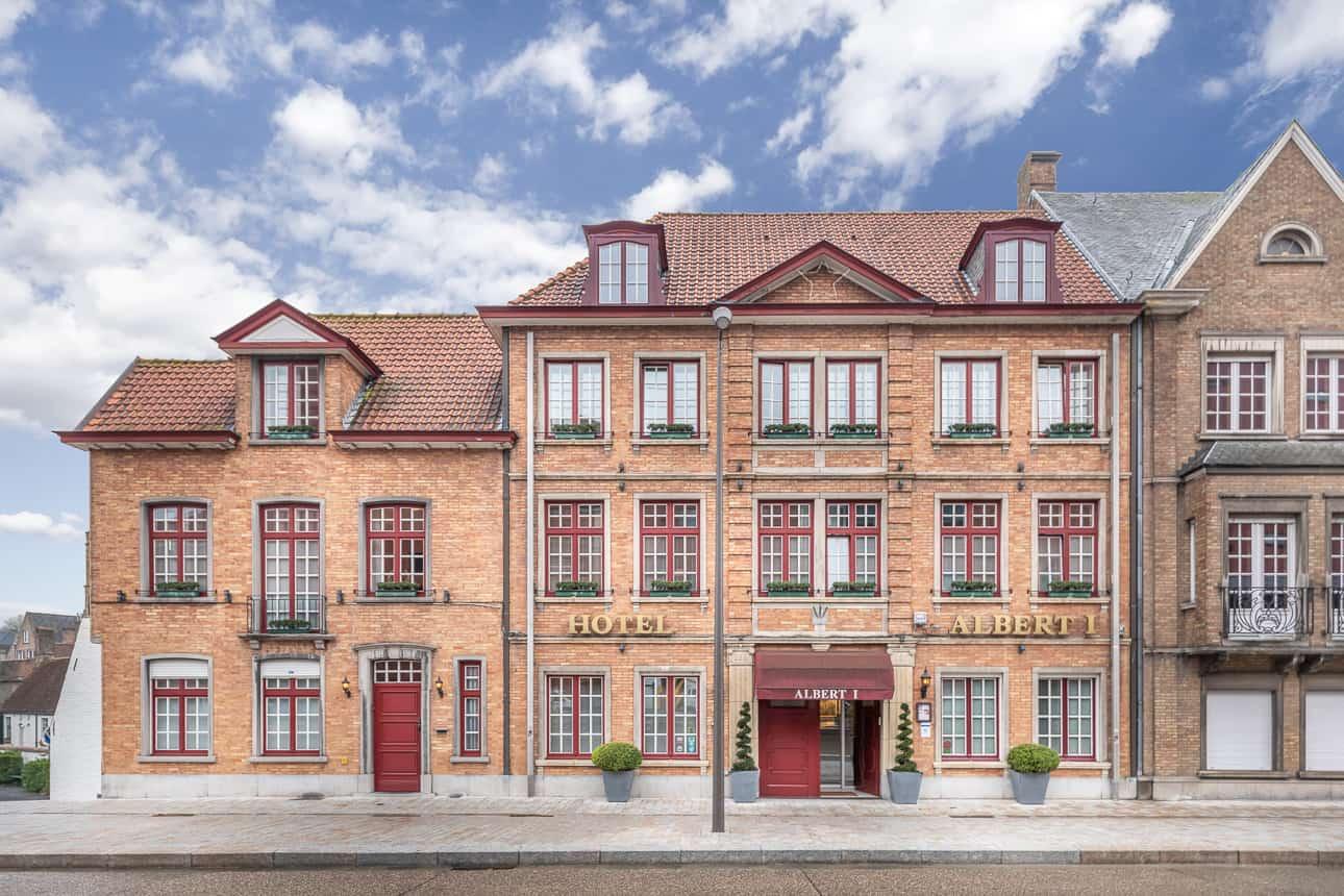 Hotel Albert 1 in Brugge, België