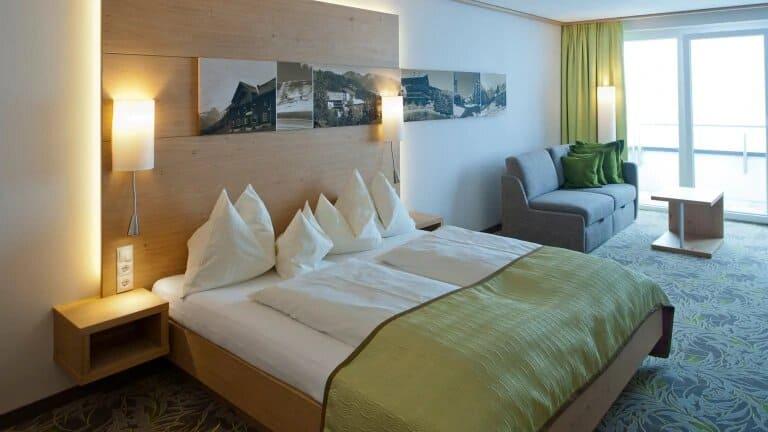 Hotelkamer van Alpinresort Schillerkopf