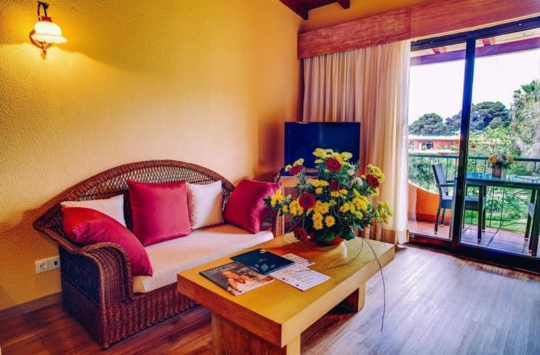 hotelkamer van Aparthotel Quinta Splendida Wellness