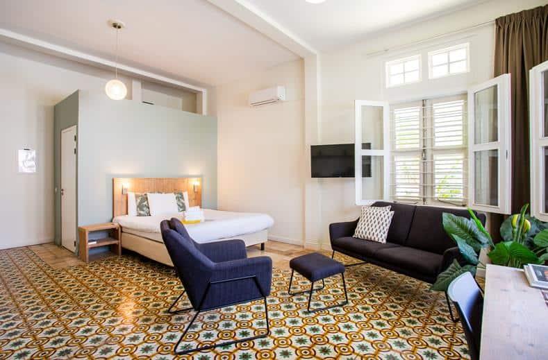 Hotelkamer van boutique hotel 't klooster