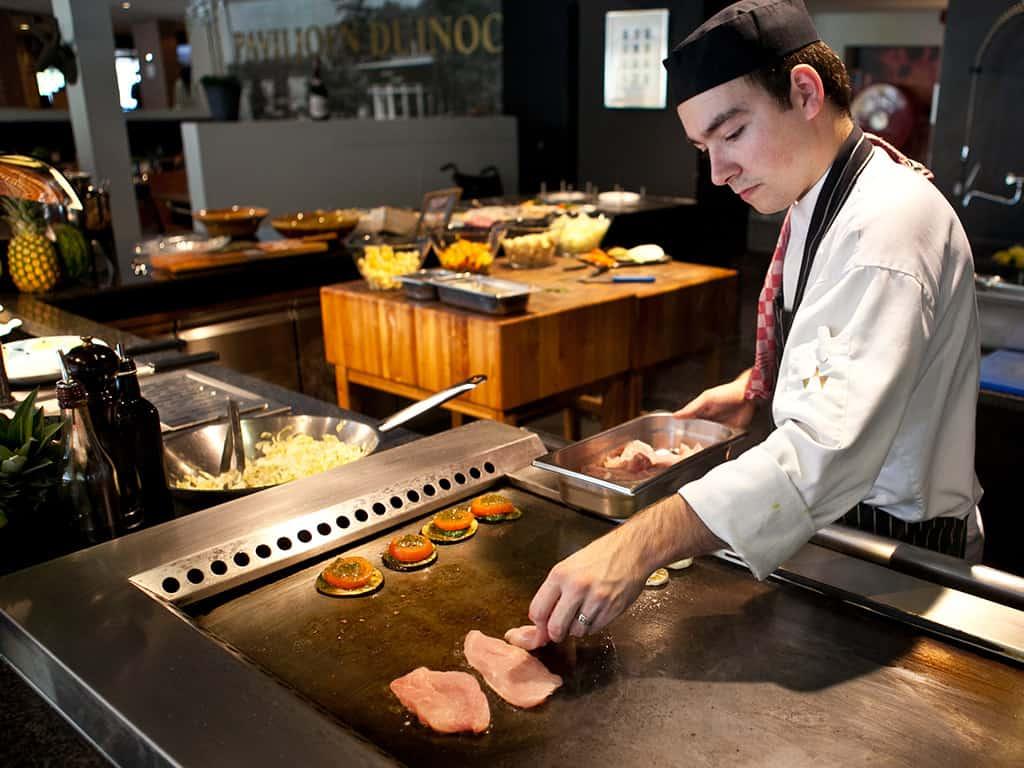 Live-cooking van Fletcher Hotel-Restaurant De Zeegser Duinen