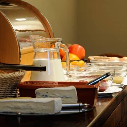 Ontbijt van Hotel Albert 1