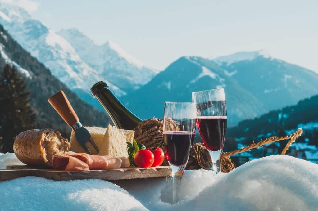 Picknick in de Dolomieten