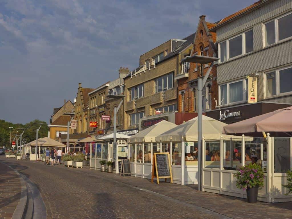 Restaurants in Nieuwpoort, België