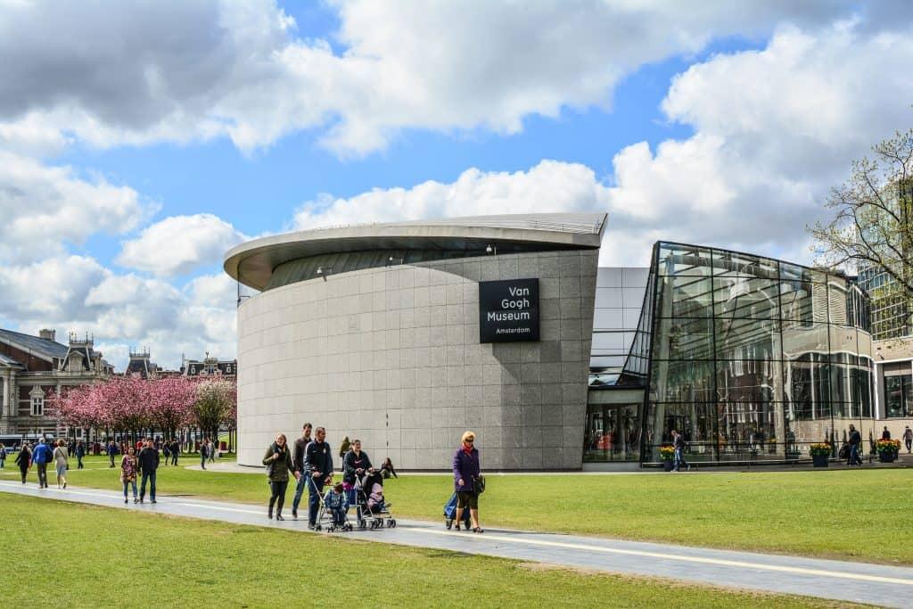 Van Gogh museum op het museumplein