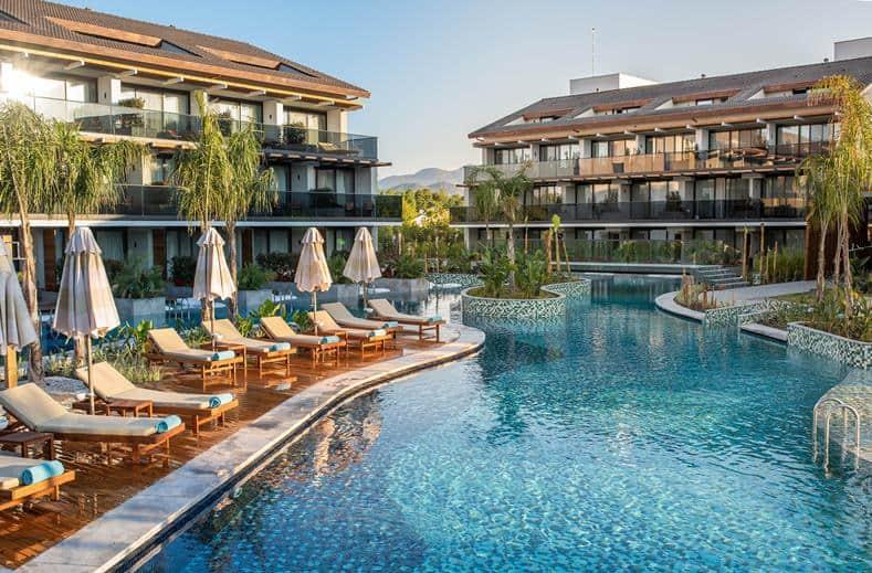 Zwembad van The Residence in Fethiye, Turkije