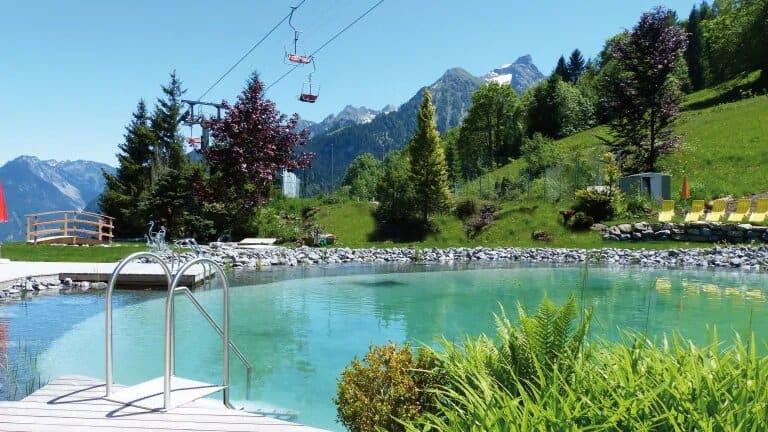Zwemvijver van Alpinresort Schillerkopf