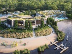 Center Parcs Terhills Resort in Dilsen-Stokkem, België