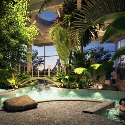 Zwembad van Center Parcs Terhills Resort