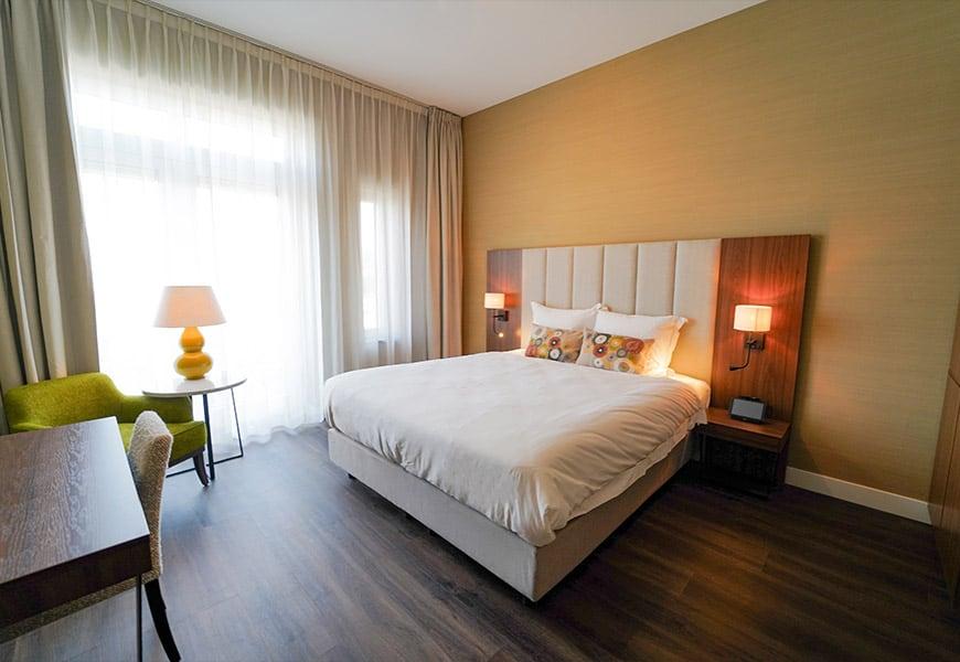 Hotelkamer van Boutique Hotel Ter Zand
