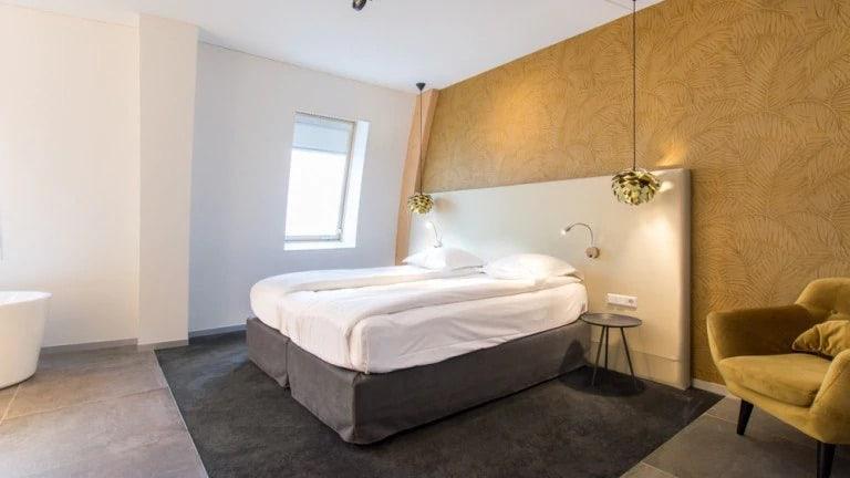 Hotelkamer van Hotel De Roode Schuur